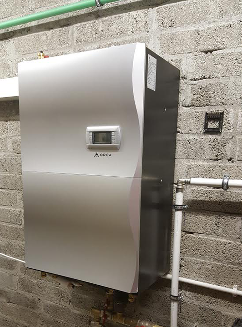 air to water heat pump systems by Orca