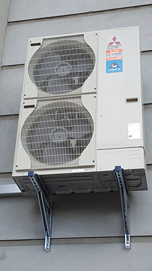air to water heat pump intake unit